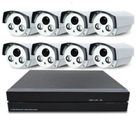 Уличный комплект видеонаблюдения 960Р на 8 камер